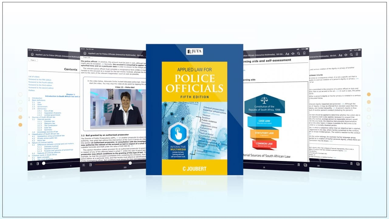 Juta - Applied Law for Police Officials (ALPO).